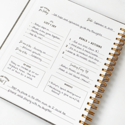 Daily Intentional Life Journal