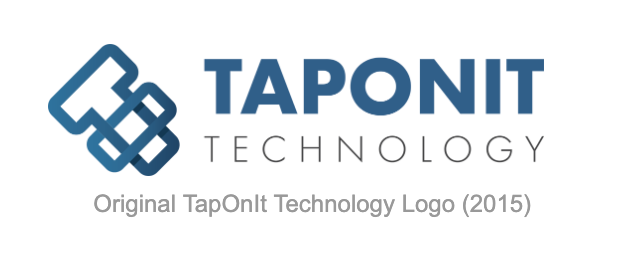 Old TapOnIt Technology Logo
