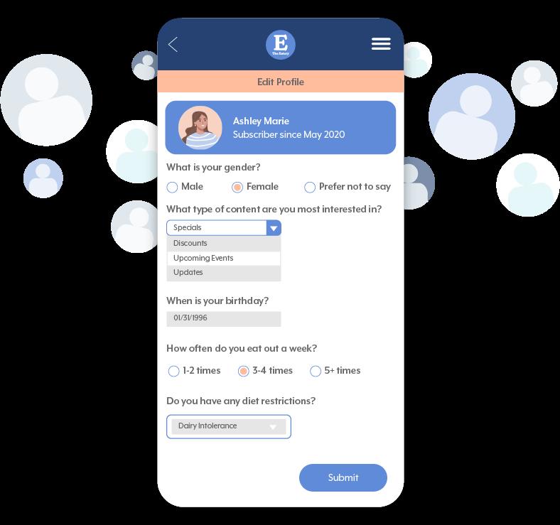 User Profile Phone
